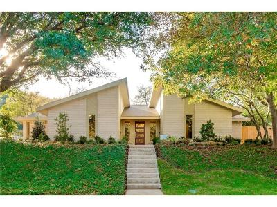 Single Family Home For Sale: 4136 Inwood Road