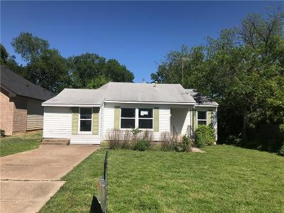 Fort Worth Single Family Home For Sale: 4841 Sandage Avenue