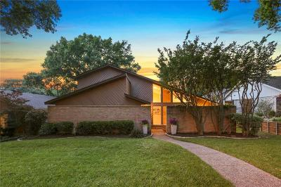 Lake Highlands Single Family Home Active Option Contract: 8031 Westover Drive
