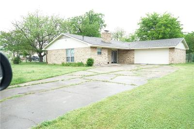 Mabank Single Family Home Active Contingent: 104 Coleman