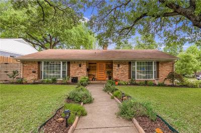Richardson Single Family Home Active Contingent: 827 Sherwood Drive