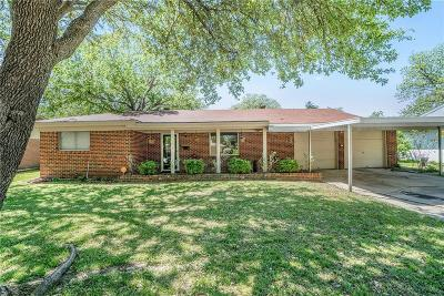 Benbrook Single Family Home For Sale: 1126 Park Center Street