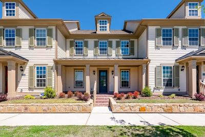 Frisco Townhouse Active Option Contract: 4048 Cotton Gin Road