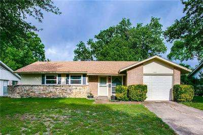 Plano Single Family Home Active Option Contract: 1509 Judy Drive