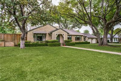 Dallas County Single Family Home For Sale: 5762 Berkshire Lane