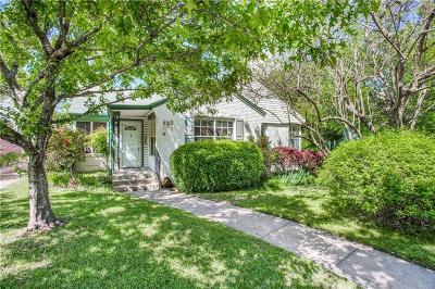 Dallas Residential Lots & Land For Sale: 6163 Kenwood Avenue