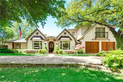 Coppell Single Family Home Active Option Contract: 559 Arbor Brook Lane