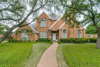Plano Single Family Home Active Option Contract: 5832 Bridle Bend Trail