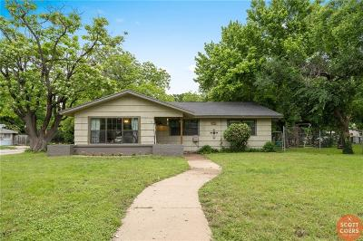 Brownwood Single Family Home For Sale: 2600 Greenway Avenue