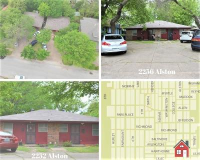Fort Worth Multi Family Home For Sale: 2252 Alston Avenue