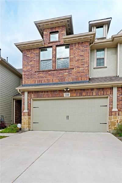 Plano Townhouse For Sale: 2241 Wabash Way