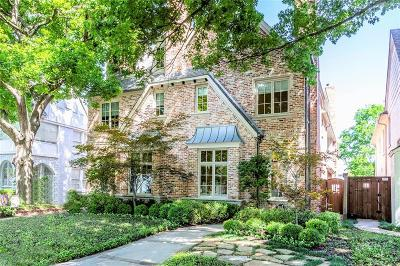 Highland Park, University Park Single Family Home For Sale: 4316 Emerson Avenue