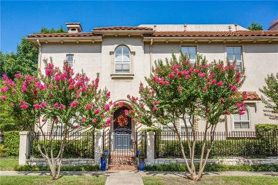 Highland Park, University Park Single Family Home For Sale: 3489 McFarlin Boulevard