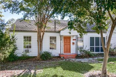 Dallas Single Family Home For Sale: 8726 Santa Clara Drive