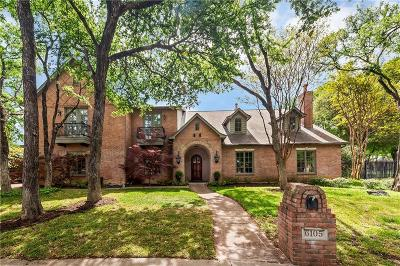 Fort Worth Single Family Home For Sale: 6105 Laurel Valley Court