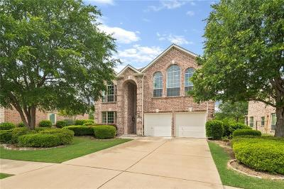 Frisco Single Family Home Active Option Contract: 11121 La Cantera Trail