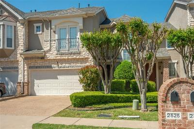 Irving Townhouse For Sale: 2525 Champagne Drive
