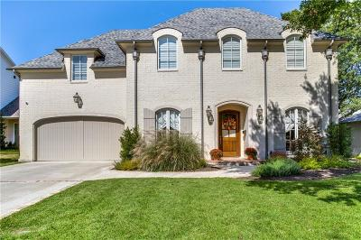 Dallas Single Family Home For Sale: 6815 Woodland Drive