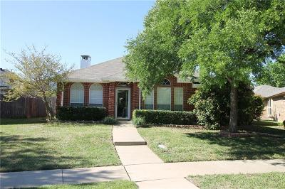 Lewisville Single Family Home Active Option Contract: 525 Creek Court