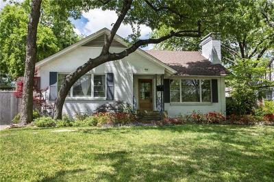 Dallas County Single Family Home For Sale: 935 Lausanne Avenue