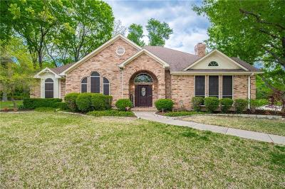Rockwall Single Family Home Active Option Contract: 1000 Ridge Road Court