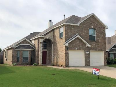 Mansfield Single Family Home For Sale: 1413 Chateau Lane