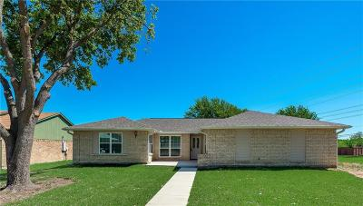 Mesquite Single Family Home For Sale: 3720 Cranston Drive