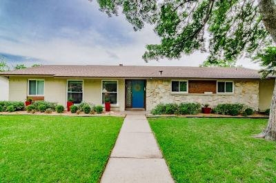 Dallas Single Family Home For Sale: 3150 Whitehall Drive