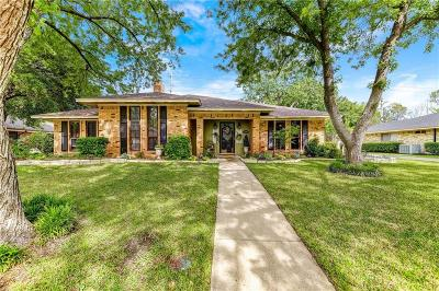 Denton Single Family Home For Sale: 3204 Nottingham Drive