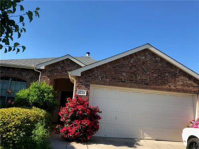 Denton Single Family Home For Sale: 1408 Santos Drive