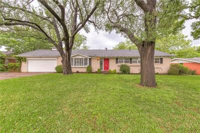 Fort Worth Single Family Home For Sale: 4401 Stonedale Road