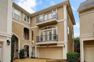 Galveston County, Harris County Condo For Sale: 3316 W Dallas Street