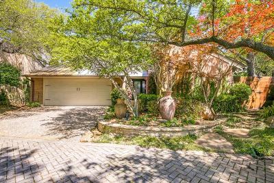 Dallas TX Single Family Home For Sale: $739,900