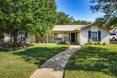 Carrollton Single Family Home For Sale: 2707 N Surrey Drive