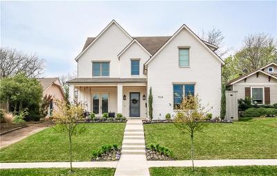 Dallas Single Family Home For Sale: 7226 Coronado Avenue