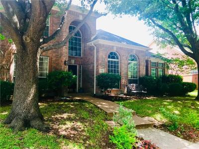 Allen Single Family Home Active Option Contract: 1434 Tascosa Court