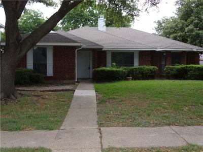 Mesquite Single Family Home Active Option Contract: 804 Creekview Drive