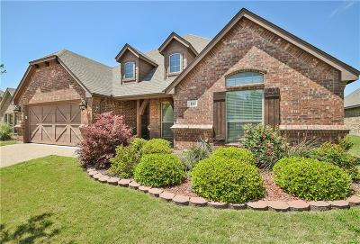 Aledo Single Family Home For Sale: 111 Chateau Drive