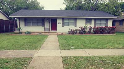 Richardson Single Family Home For Sale: 535 E Polk Street
