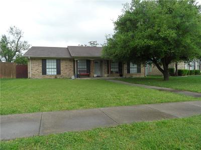 Carrollton Single Family Home For Sale: 2216 Nolan Drive