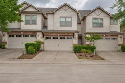 Allen Townhouse For Sale: 814 Apple Hill Drive