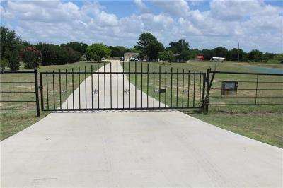 Kaufman Single Family Home Active Option Contract: 6238 Raymond Road