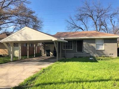 Single Family Home For Sale: 3735 Bolivar Drive