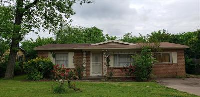 Dallas Single Family Home For Sale: 11824 Oberlin Drive