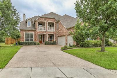 Keller Single Family Home For Sale: 1610 Creekvista Court