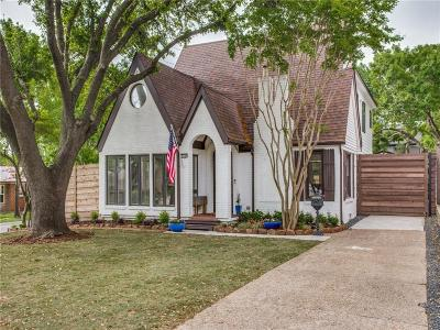Dallas County Single Family Home For Sale: 5946 Vickery Boulevard