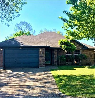 Fort Worth Single Family Home For Sale: 1429 Gainsborough Way