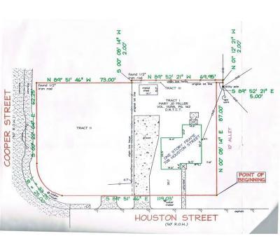 Arlington Residential Lots & Land For Sale: 708 Houston Street