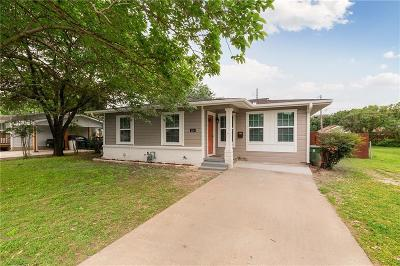 Grapevine Single Family Home For Sale: 1116 Bellaire Drive