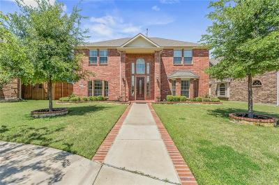 Denton County Single Family Home For Sale: 7925 Cobalt Drive